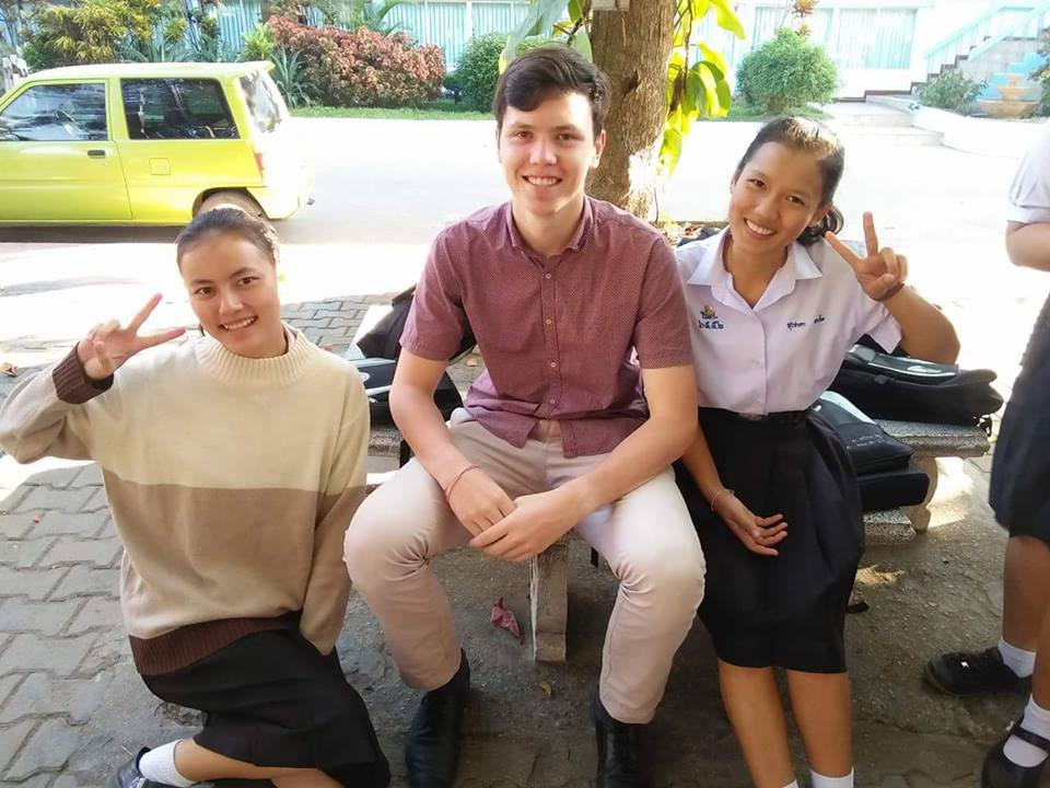 Service year in Thailand by Pat Doyle